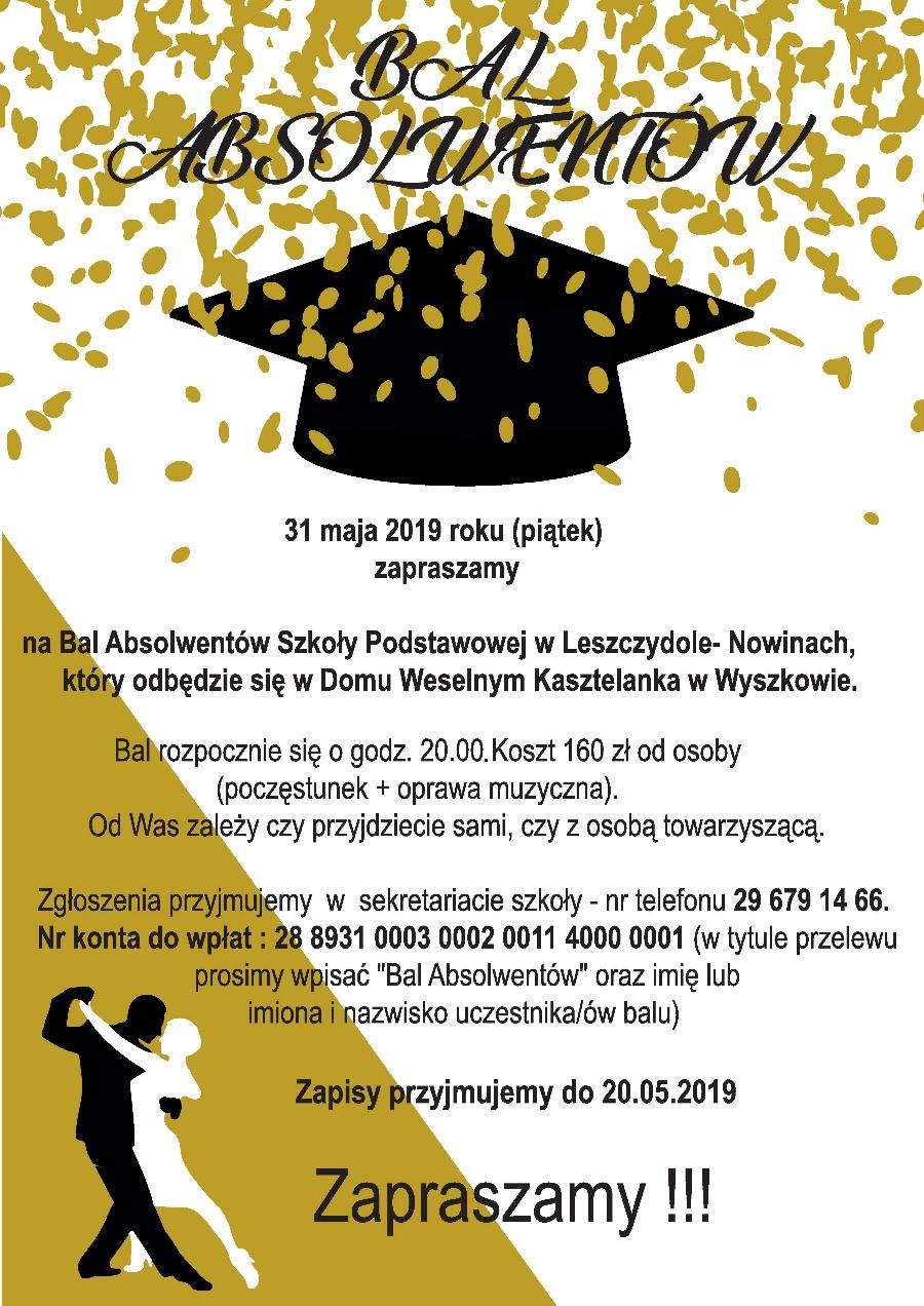 Bal absolwentów